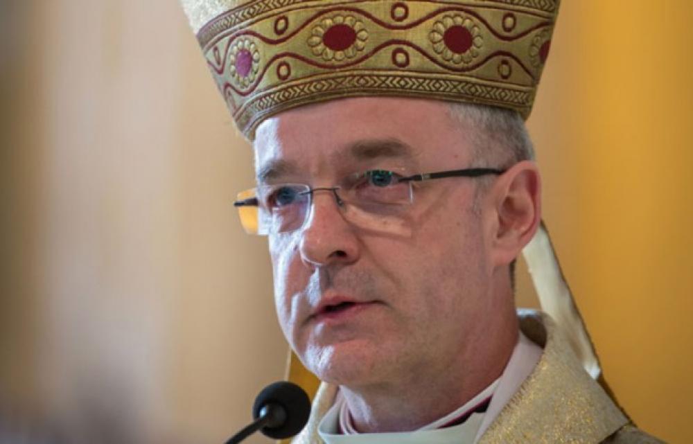 Życzenia Delegata Konferencji Episkopatu Polski ds. Duszpasterstwa Emigracji Polskiej Bp.Wiesława Lechowicza