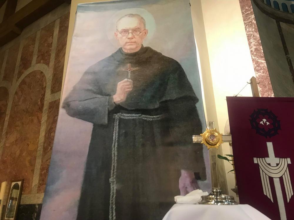 Relikwie Świętego Maksymiliana Kolbe
