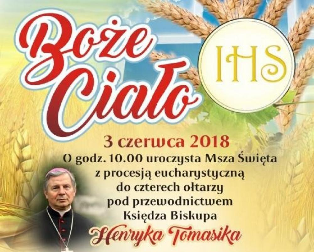Uroczystość Bożego Ciała