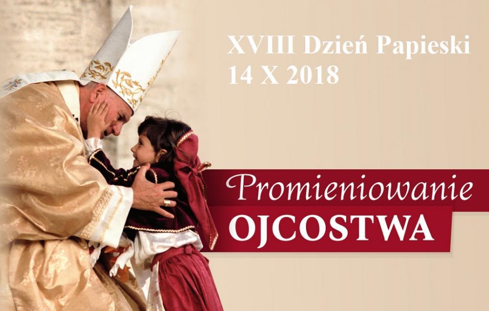"""XVIII Dzień Papieski pod hasłem """"Promieniowanie Ojcostwa"""" już w najbliższą niedzielę"""